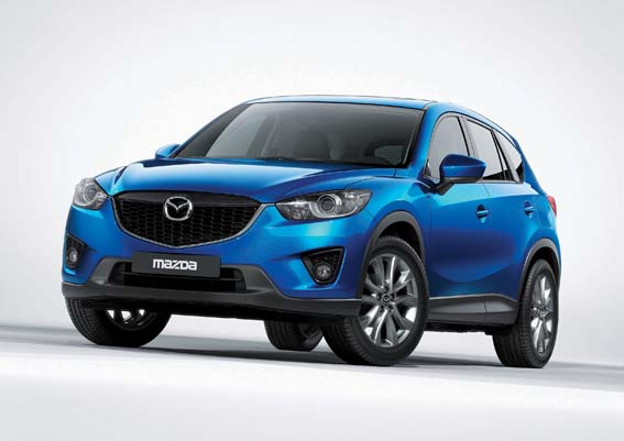 Mazda CX5 launch at Dubai Motor Show