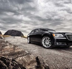 Chrysler 300C - the brand's all new luxury sport sedan
