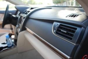 Camry 2012 dashboard looks premium