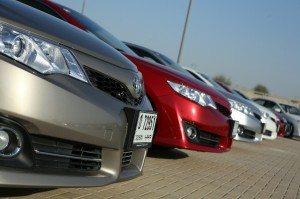 All-new Camry launch event at the Dubai AutoDrome