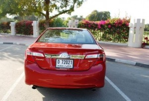 Camry 2012 is available in 4 versions