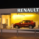 Renault Pop up showroom opens at the Motor City showcasing the new Koleos.