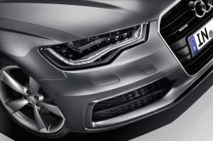 Audi A6 LED running lights