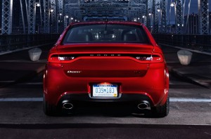 Dodge Dart design features like Charger