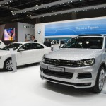 At the Road Show, test drive is available for new VW models like Touareg and new Jetta.