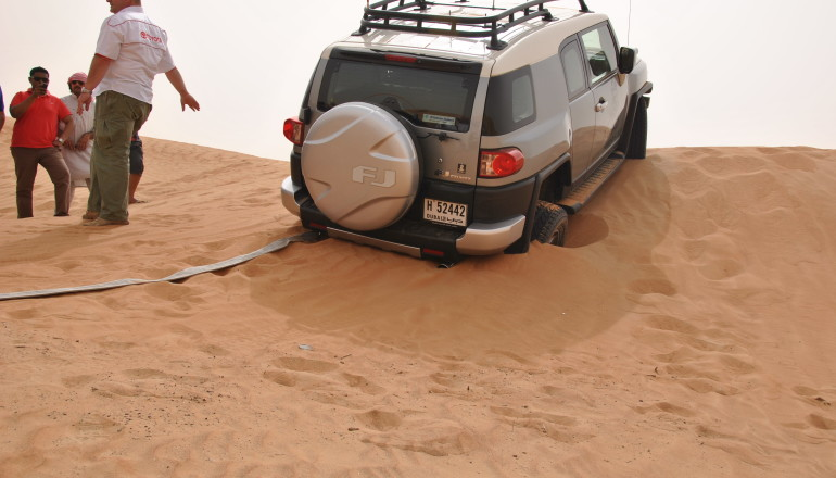 Toyota Desert Training
