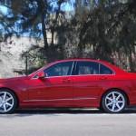 Mercedes C 350 profile