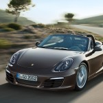 The new Boxster is driven by a 2.7 L engine that delivers 265hp - ten horsepower more than its larger displacement predecessor.