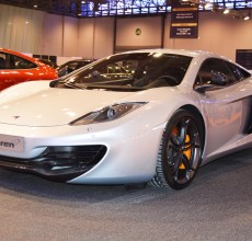 Sharjah auto show McLaren