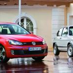 Volkswagen Golf GTI 2012 comparison