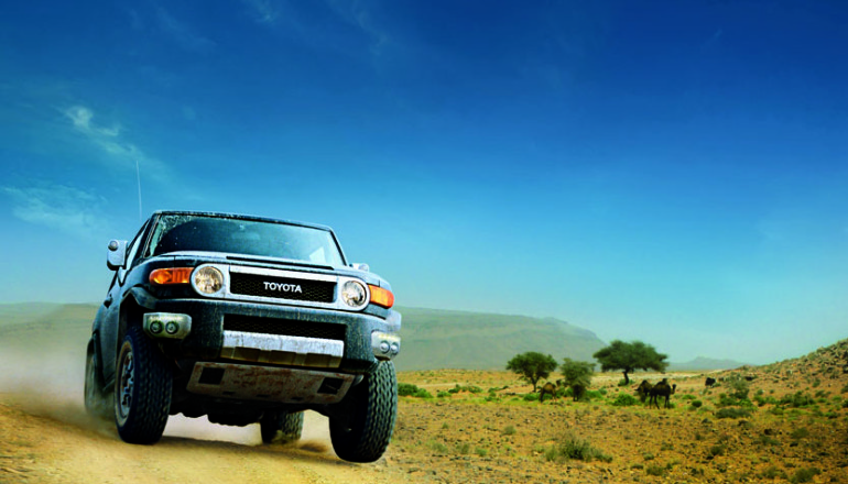 The FJ Cruiser to drive for free and a whole lifestyle to accompany it!