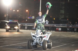 Several Freestyle Motocross (FMX) champions and other stunt heroes will be holding spectacular shows outside the Doha Exhibition Center to the delight of visitors.