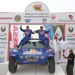Schlesser will again partner with Russian co-driver Konstantin Zhilstov in his familiar Sonangol Buggy.