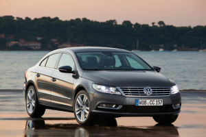 Volkswagen CC front grille and lights