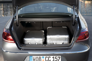 Volkswagen CC boot space