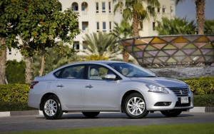 Nissan Sentra is a compact sedan with premium features