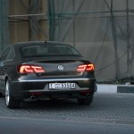 Volkswagen CC road test Dubai UAE