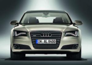 Audi A8 LED lights debut