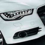 Audi LED lights fuel efficient