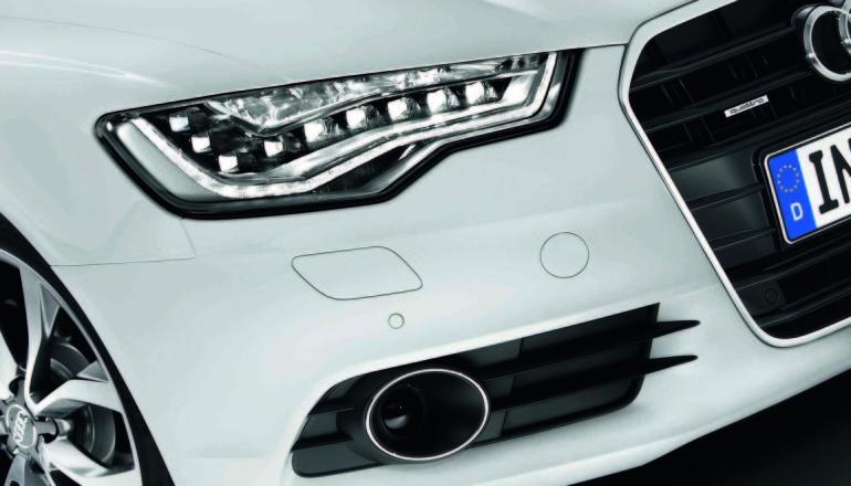 Audi LED lights fuel efficient
