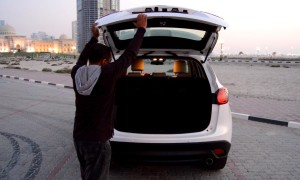 Mazda CX5 has class leading boot space