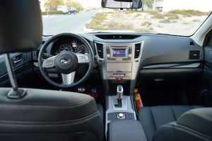 Subaru Legacy spacious cabin