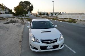 Subaru Legacy GT 0-100 result