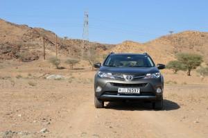 Toyota RAV-3 is fully capable for off roading