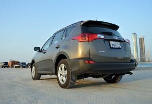 Toyota RAV 4 rear lights