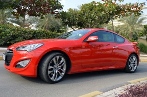 Hyundai Genesis Coupe is a sports car with space for family values
