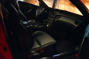 Genesis Coupe cabin feels premium