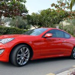 Hyundai Genesis Coupe design profile