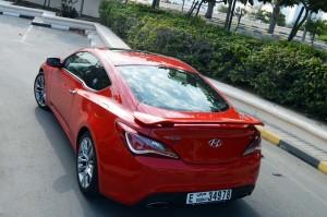 Hyundai Genesis Coupe powerful drive