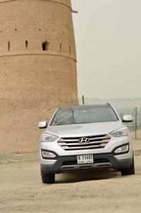 Hyundai Santa Fe has good off road features