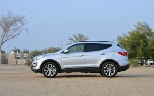 Santa Fe is an easy to handle SUV making it comfortable for lady drivers too