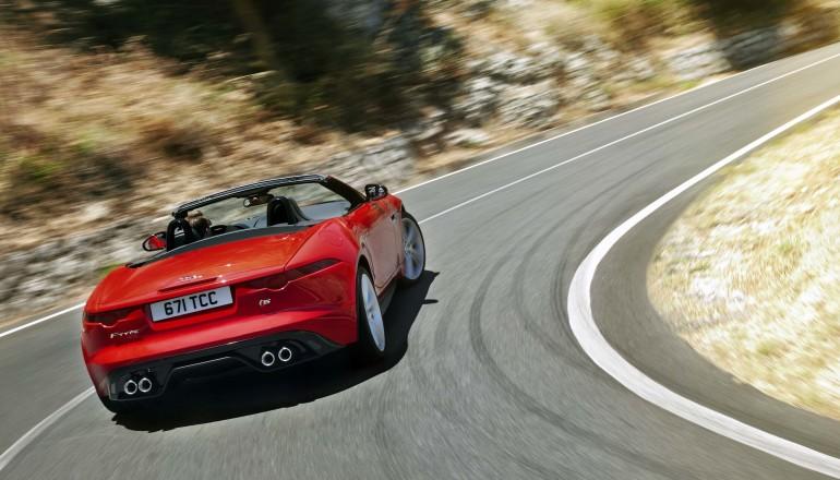 Jaguar F Type launch Dubai