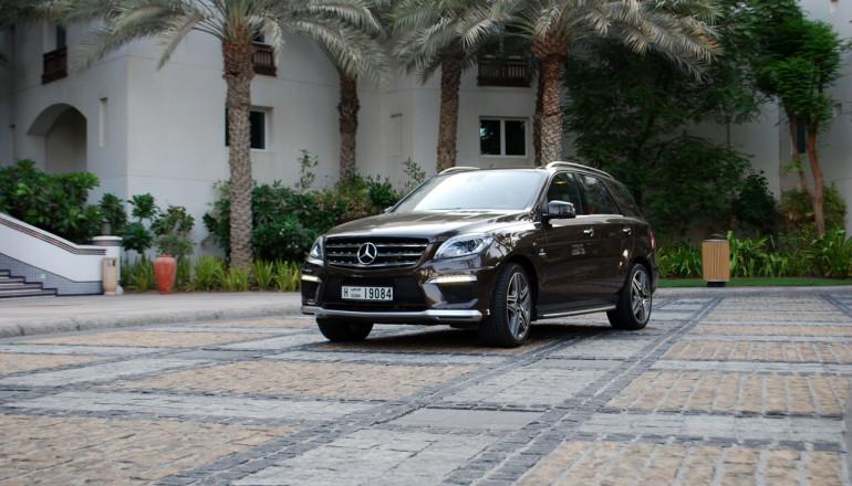 ML 63 AMG UAE test drive review