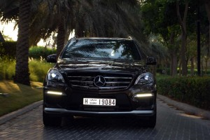 Mercedes ML 63 AMG design in front grille