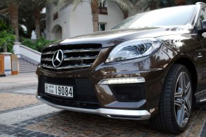 ML 63 AMG is capable more as a powerful city rider