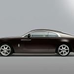 Rolls Royce Wraith sport back design