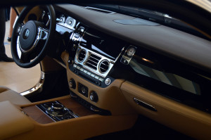 Rolls Royce Wraith had luxury spelt in silken leather and premium wood