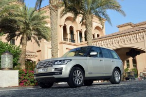 Range Rover 2013 has comfort with massage
