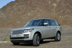 Range Rover 2013 is light weight with monocoque structure