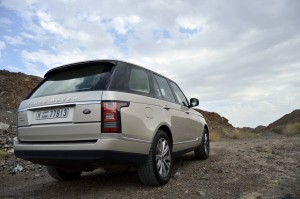 Range Rover new design saves weight and fuel