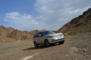 Range Rover 2013 aerodynamic design