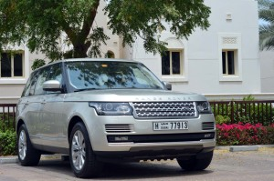 Range Rover 2013 is more off road capable with 900mm wading depth