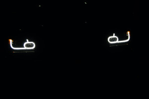 Range Rover lamps are design oriented