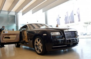 Wraith is the most powerful Rolls Royce ever