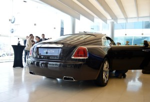 Rolls Royce Wraith wheels and rear