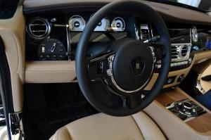 Rolls Royce Wraith steering